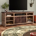 Union Rustic Woodsburgh Tv Stand For Tvs Up To 85 Reviews