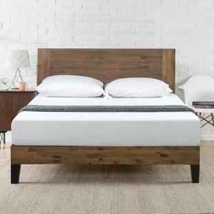 kira low profile platform bed