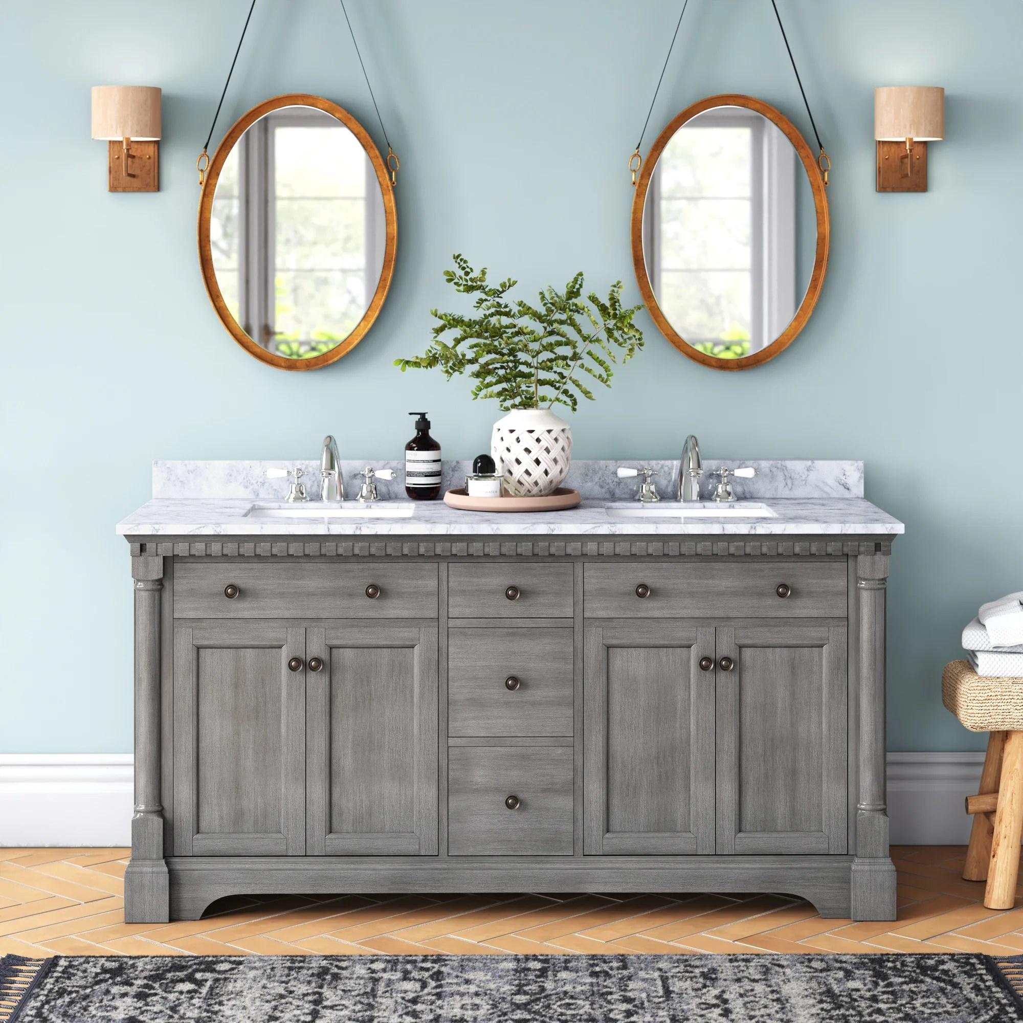 seadrift 61 double bathroom vanity set