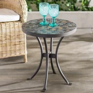 Brie Mosaic Side Table