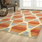 Brayden Studio Rigoberto Hand Tufted Wool Red Orange Area Rug Reviews