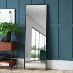 Black Floor Mirrors You Ll Love In 2021 Wayfair