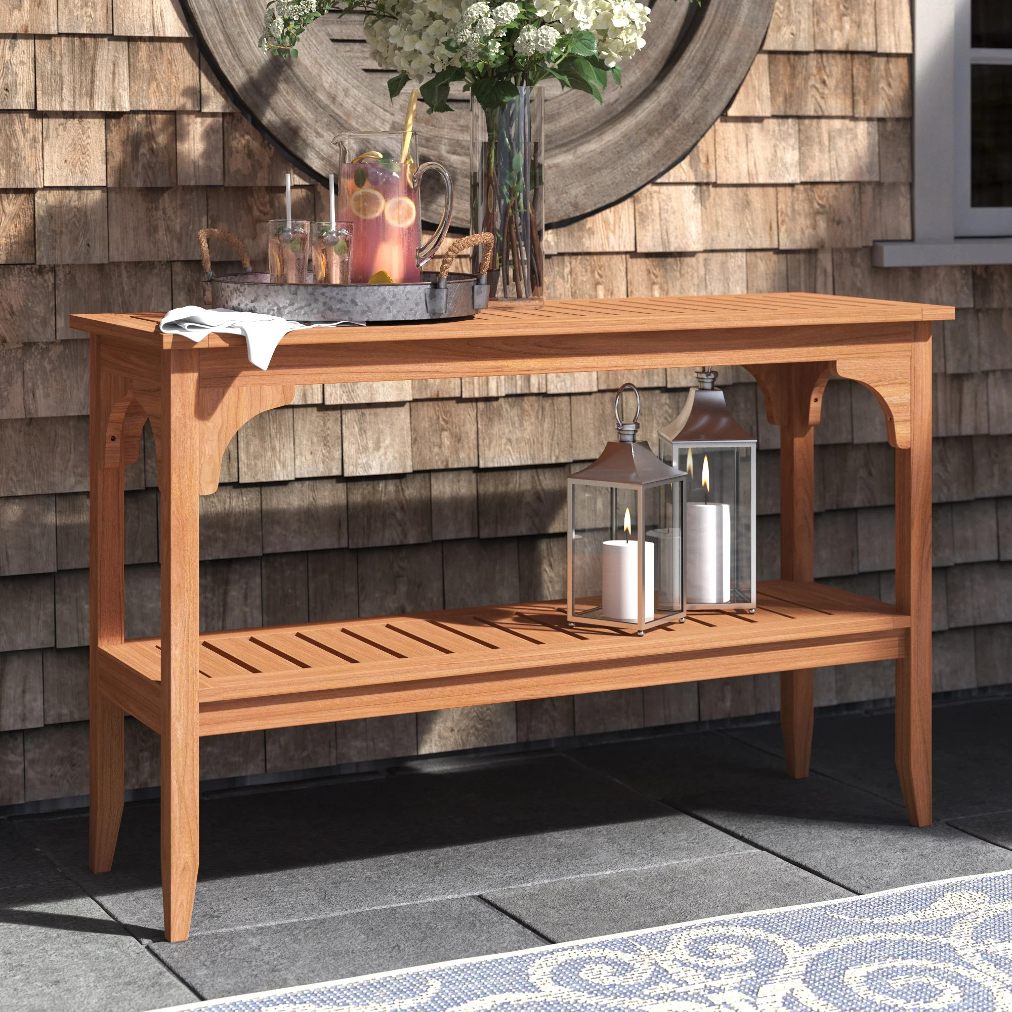 outdoor console tables up to 60 off