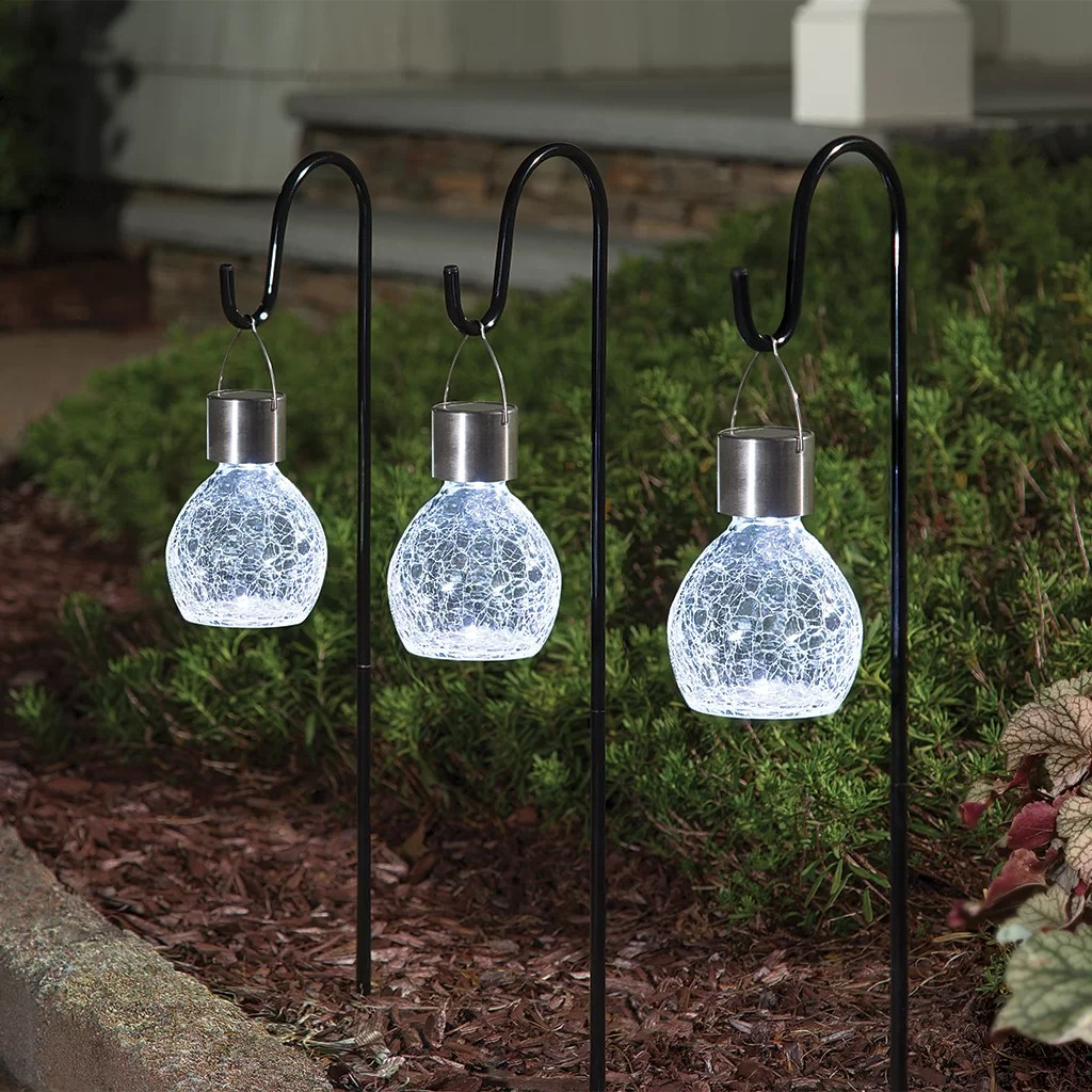 12 x colour changing stainless steel solar led garden patio post outdoor lights yard garden outdoor living other outdoor lighting