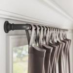 Greyleigh Hoffman Industrial Single Curtain Rod Reviews Wayfair
