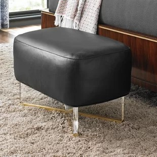 Take Five Leather Ottoman