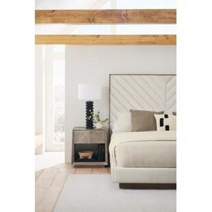 upholstered platform 2 piece configurable bedroom set