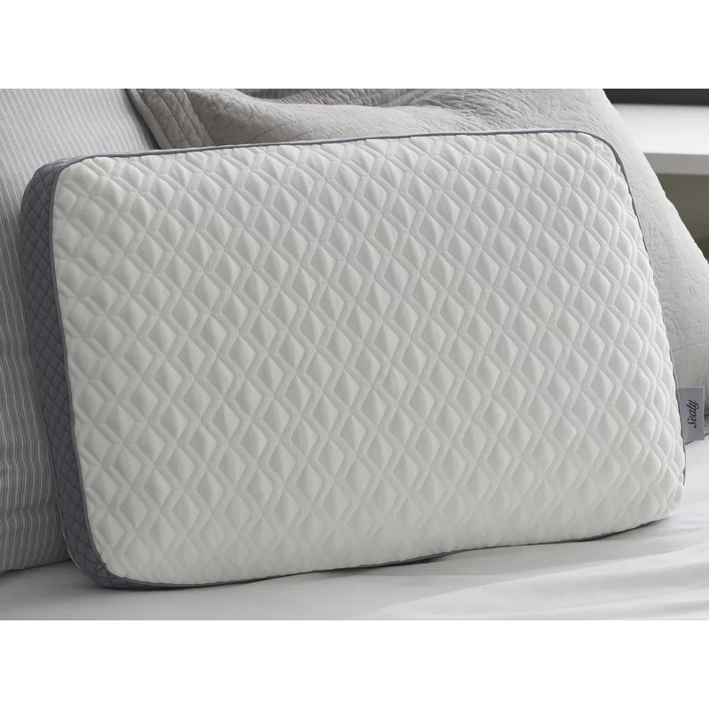 sealy conform memory foam pillow up to