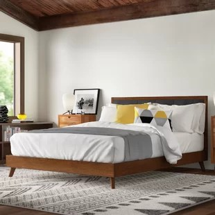 koda upholstered platform bed