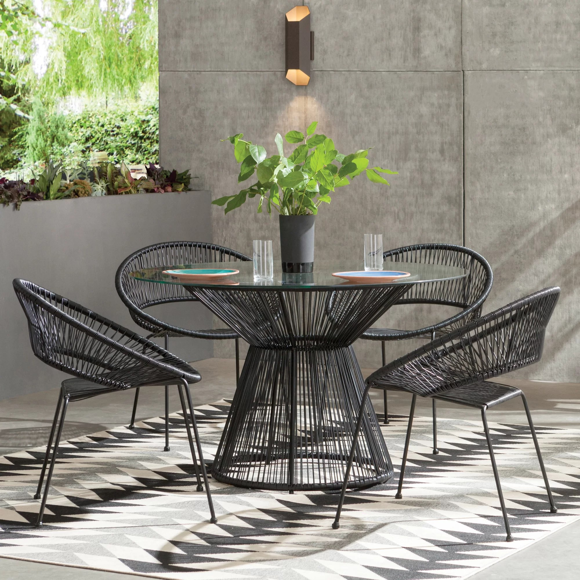 modern outdoor furniture | allmodern