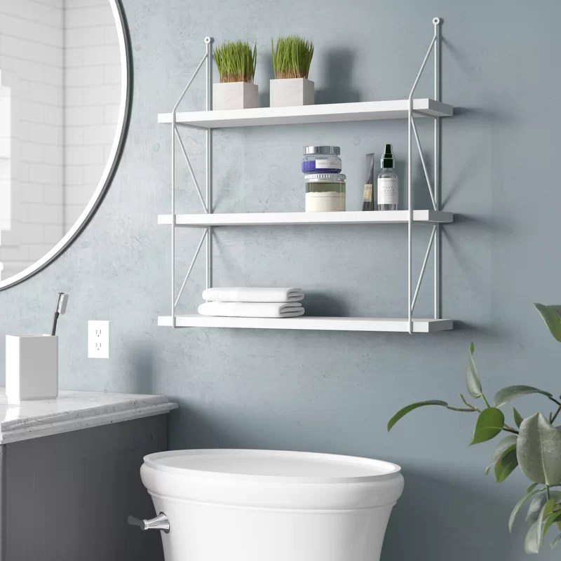 Welland 3-Tier Display Wall Accent Shelf