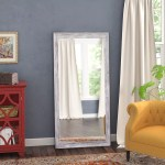 Millwood Pines Yelton Rustic Full Length Mirror Reviews Wayfair
