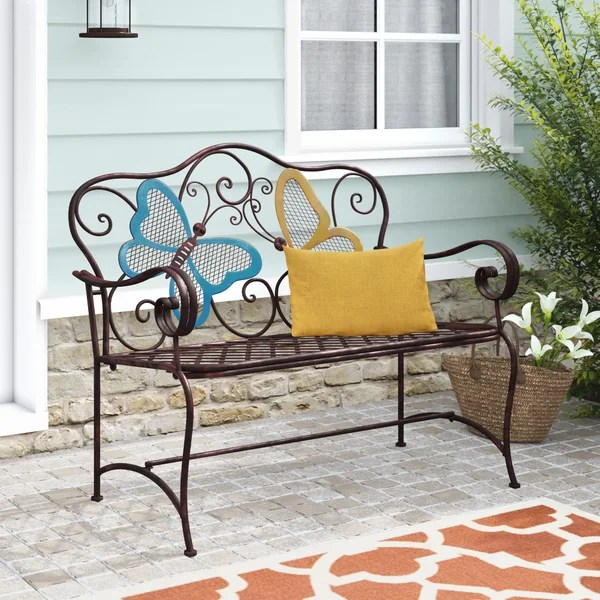 metal outdoor butterfly chair