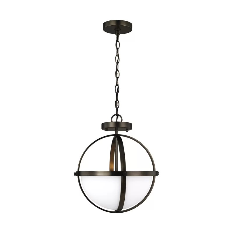 2 - Light Shaded Globe Pendant