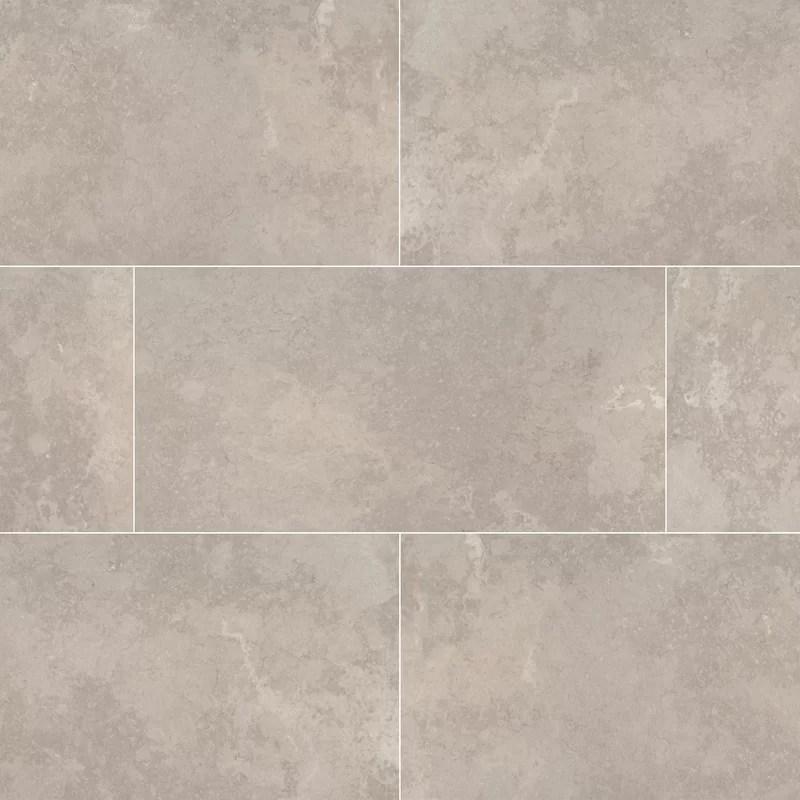 tempest 12 x 24 ceramic stone look wall floor tile