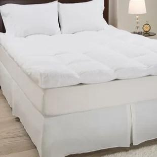 pillow top mattress pads toppers