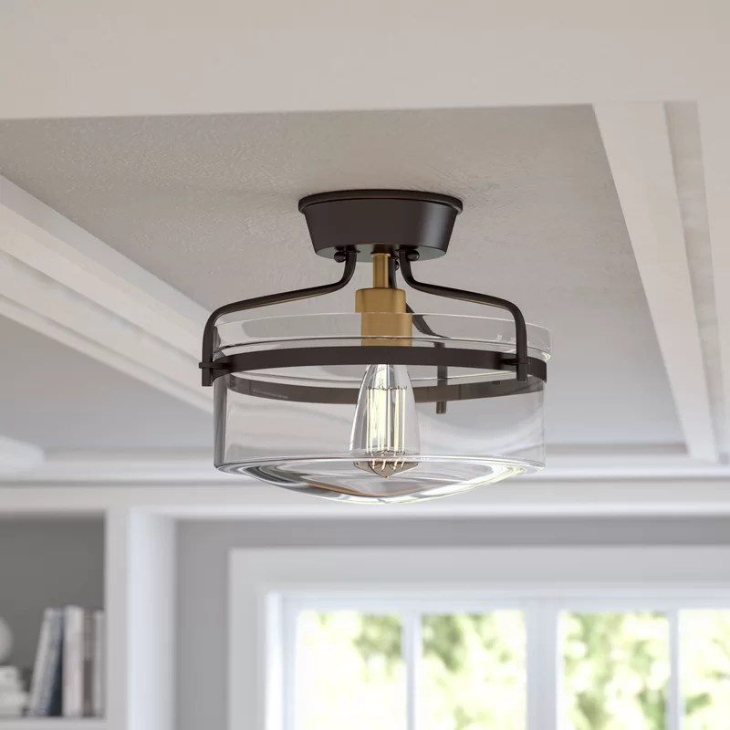 Rustic Flush Mount Ceiling Light Fixtures