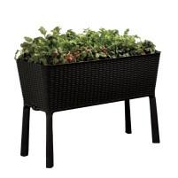 Timeless Easy Grow 3.7 ft x 1.6 ft Resin Raised Garden