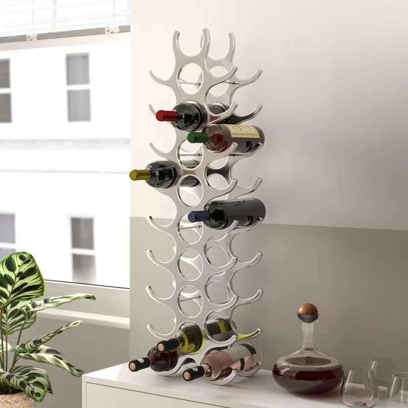 27 bottle wine rack