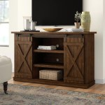 Barn Door Tv Stands Entertainment Centers You Ll Love In 2020