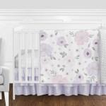 Sweet Jojo Designs Watercolor Floral 11 Piece Crib Bedding Set Reviews Wayfair