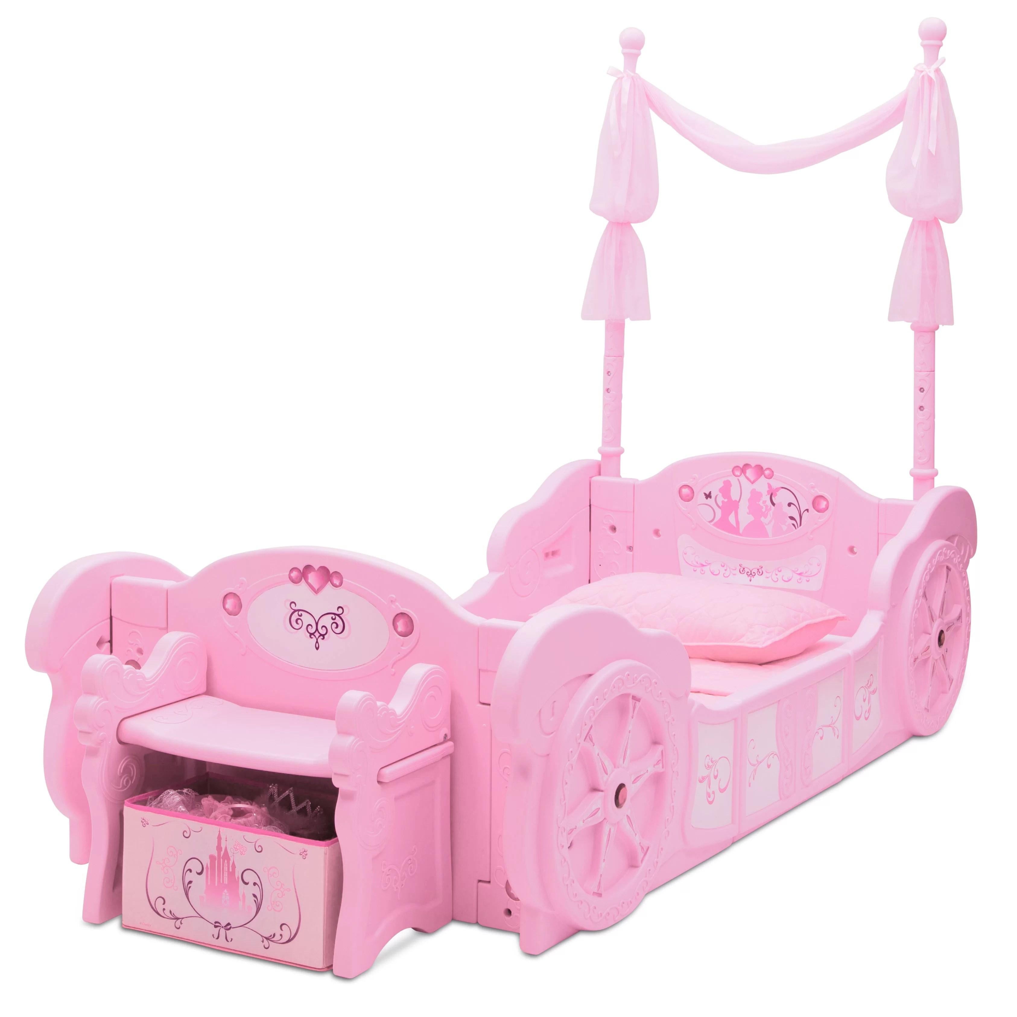 Delta Children Disney Princess Carriage Convertible Toddler Bed Reviews