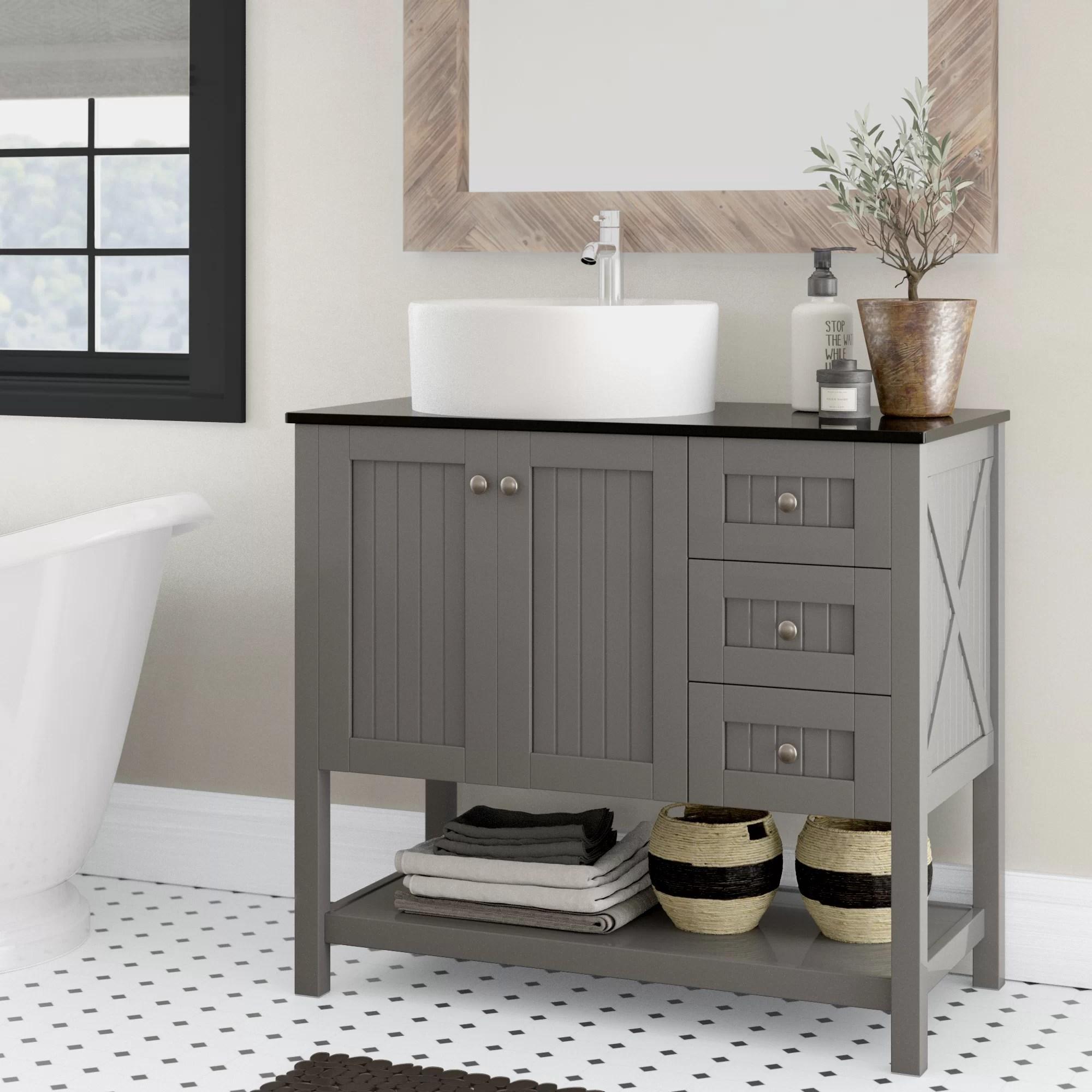 lysia 36 single bathroom vanity set