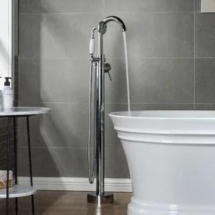 single handle bathtub faucets you ll
