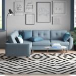 Zipcode Design Anabella Sleeper Corner Sofa Bed Reviews Wayfair Co Uk