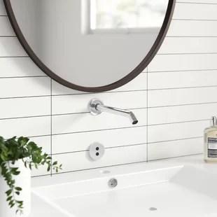 modern wall mounted bathroom sink