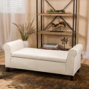 bedroom benches you'll love | wayfair
