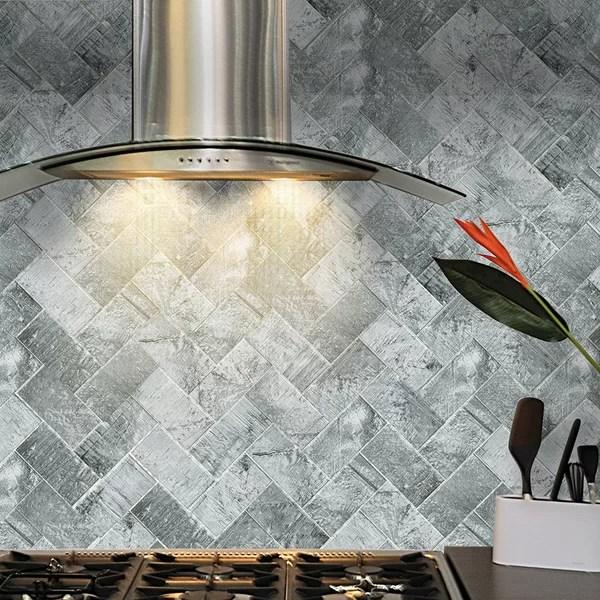 peel stick backsplash tile