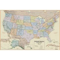(v.) (1) to make logical connections between two entities. U S Wall Maps You Ll Love In 2021 Wayfair