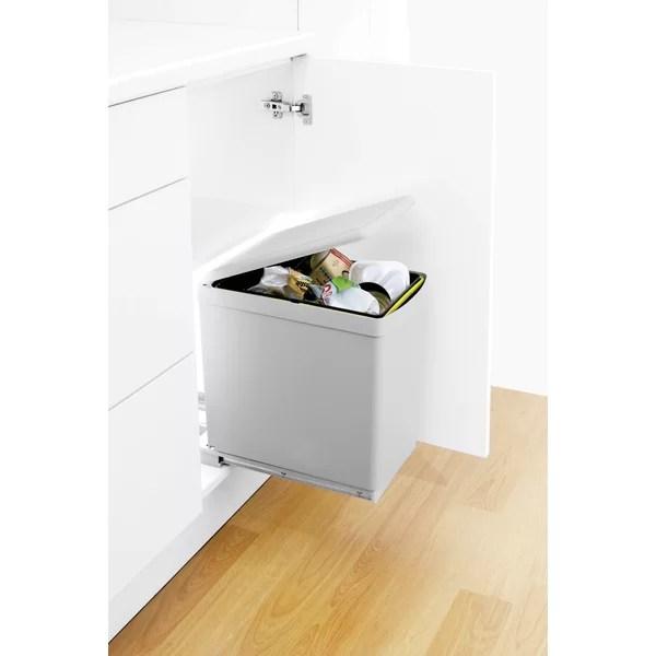 pull out kitchen waste bins