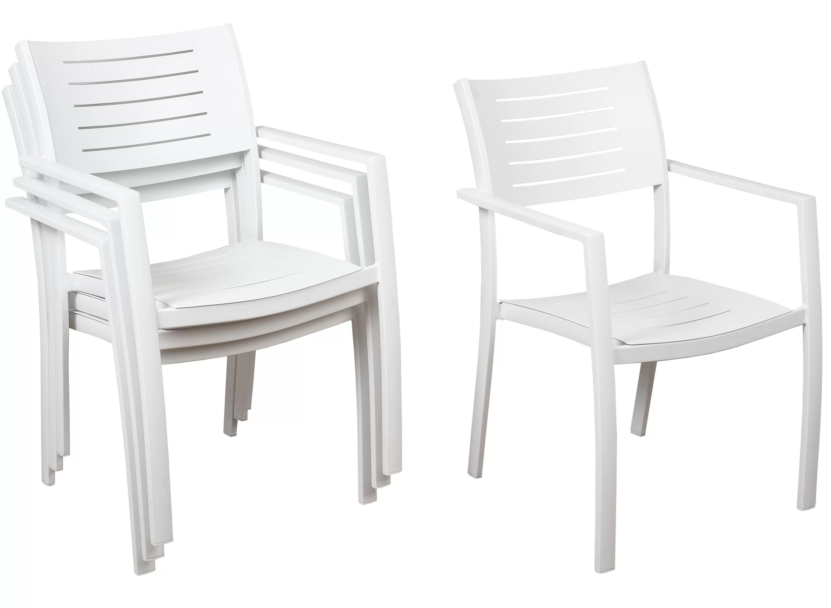 howard stacking patio dining chair