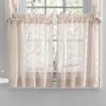 One Allium Way Doty Crochet Lace Semi Sheer 52 Window Valance Wayfair