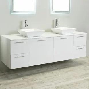 modern & contemporary rustic 72 bathroom vanity | allmodern