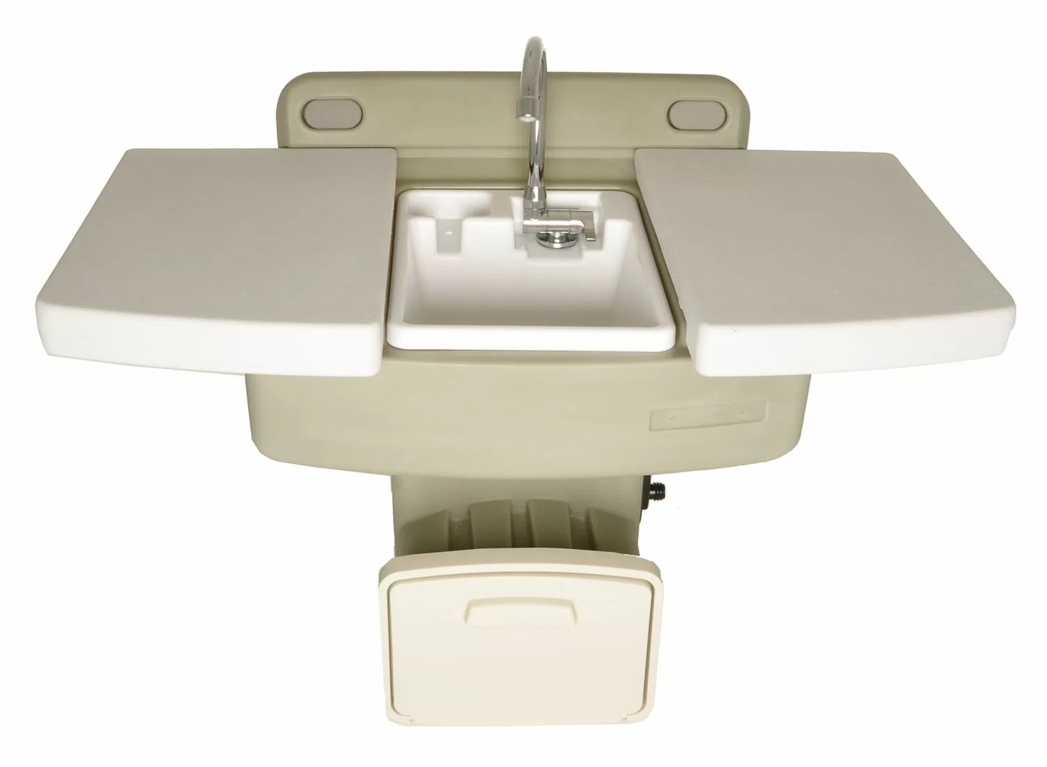 garden utility planting station outdoor sink with hose hanger