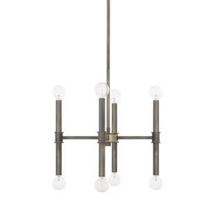 Deller 8-Light Sputnik Chandelier