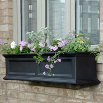 Fairfield Plastic Window Box Planter