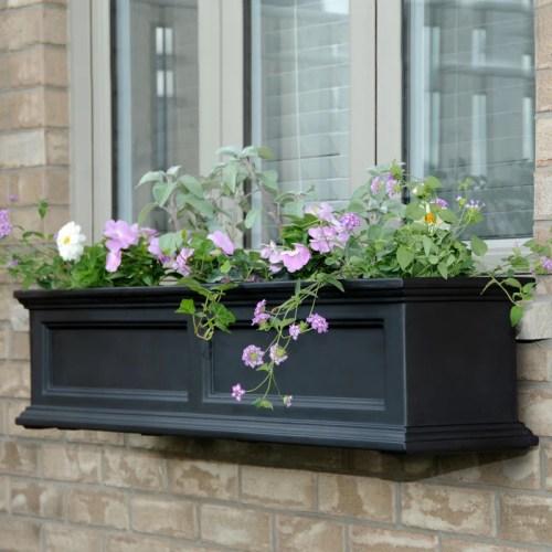 Fairfield Plastic Window Box Planter