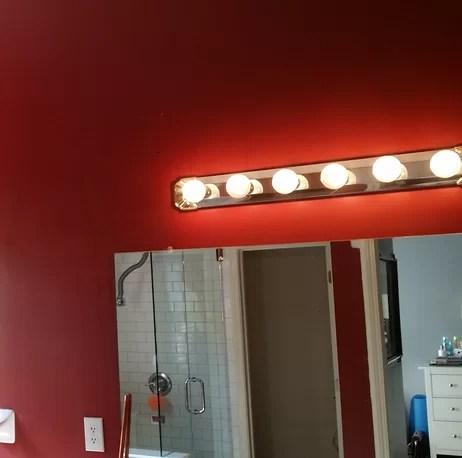 averi 2 light dimmable vanity light