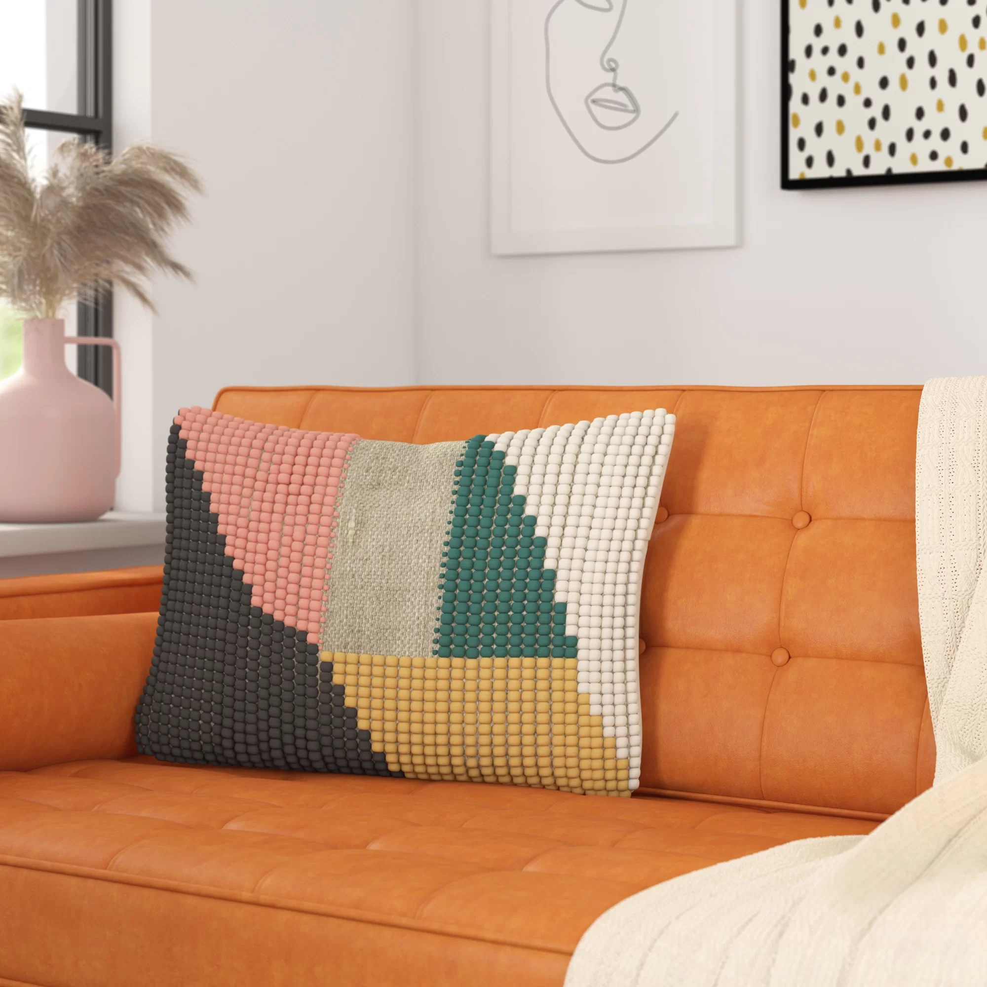 Mid Century Modern Throw Pillows You Ll Love In 2020 Wayfair