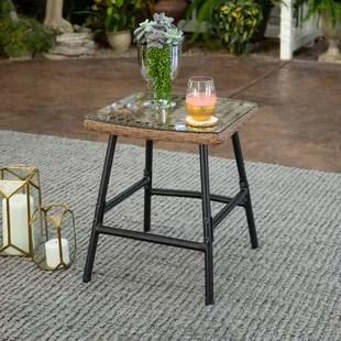 valladares patio side table
