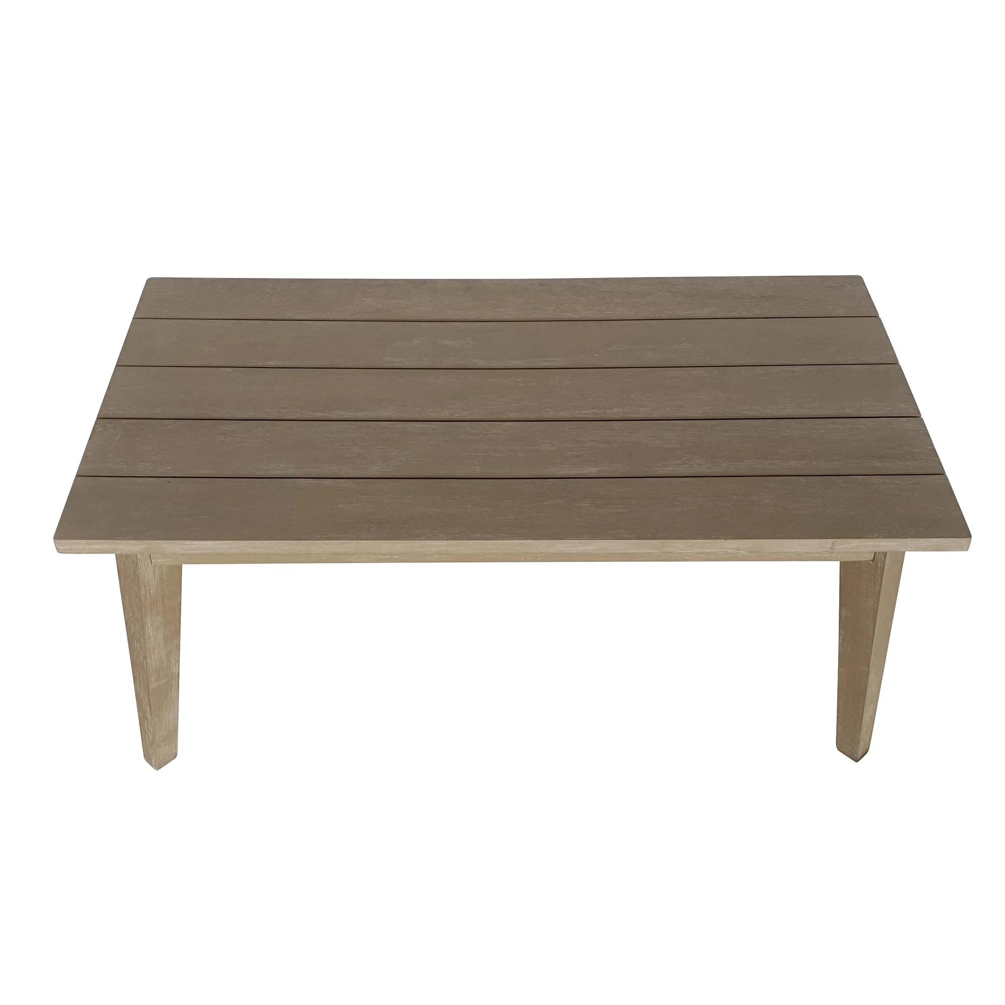 acacia coffee patio tables you ll love