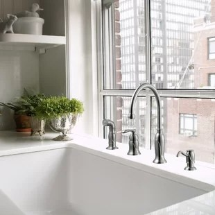 4 hole kitchen faucets free shipping