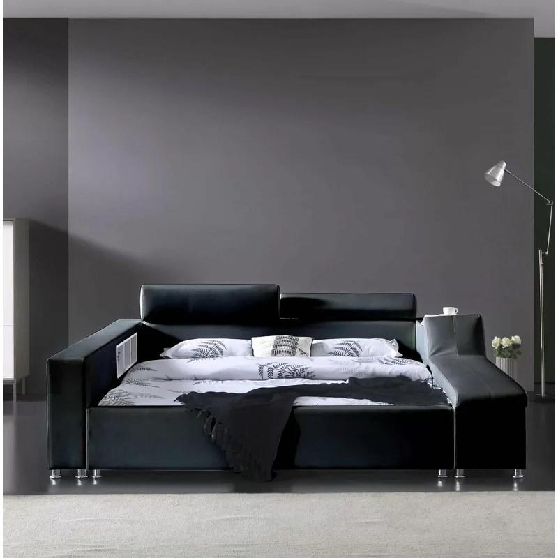 waylen upholstered low profile platform bed