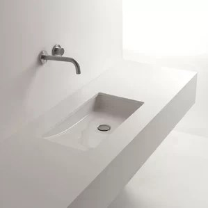 modern undermount bathroom sinks | allmodern