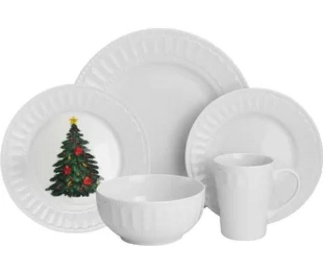 Radiant  Piece Dinnerware Set Service For