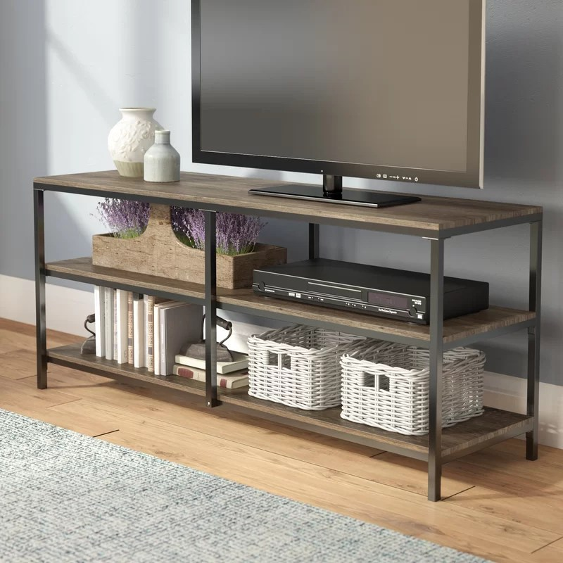 laurel foundry modern farmhouse forteau tv stand for tvs up to 60 reviews wayfair